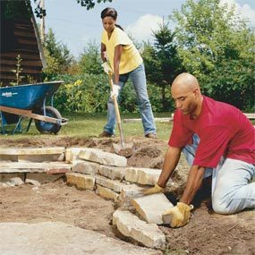 Photo 10: Add a retaining wall