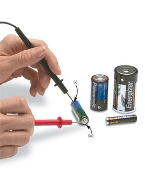 Test Batteries With a Multitester