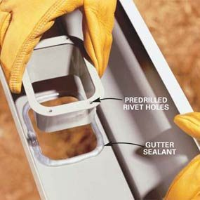 How To Install A Gutter Drain 15 Best Gutter And Downspouts
