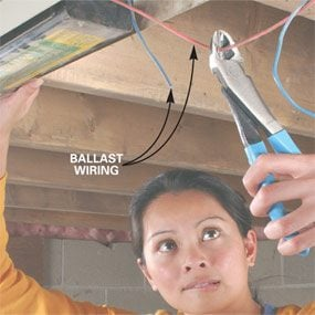How to Replace a Fluorescent Light Ballast