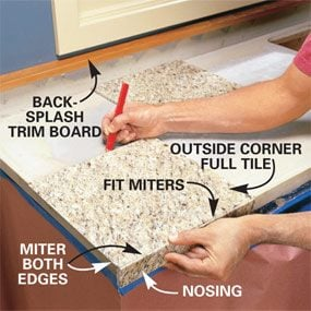 How to Install Granite Countertops (Kitchen Tile)