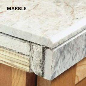 Overlapping tile edges