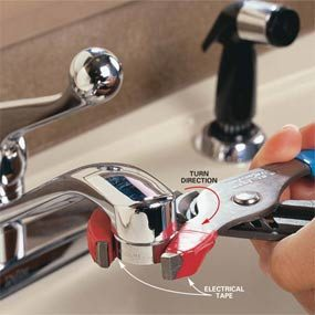 How To Replace A Faucet Aerator