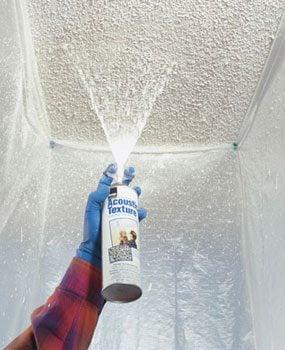 Photo 4: Spray the texture