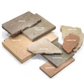 Types of stone