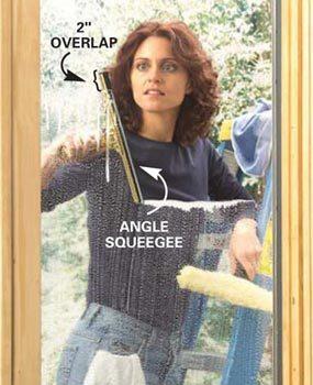 Photo 6: Work down the window
