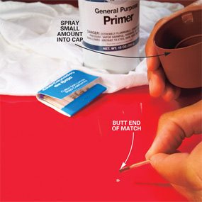 Photo 3: Apply the primer