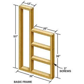 Workbench frame tech art