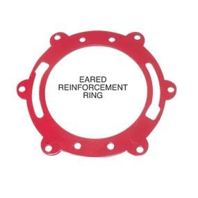 Eared reinforcement ring