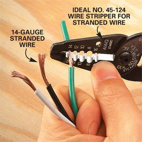Stripping Wire