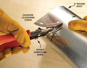 Photo 2: Left-handed offset snips