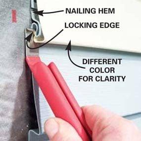 How To Install Vinyl Siding The Family Handyman