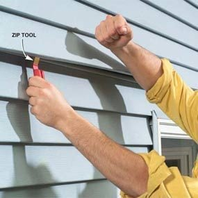 Photo 16: Lock the siding together