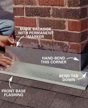 Photo 3: Install front base flashing