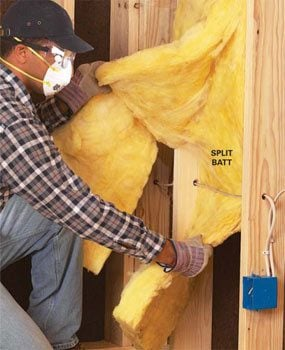 How to Install Fiberglass Batt Insulation
