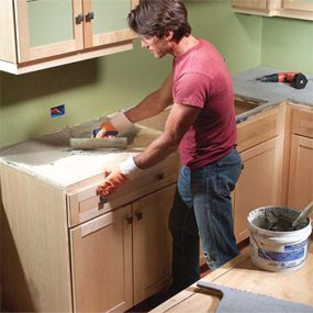 High Quality Installing Tile Countertops
