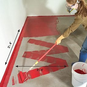 how to apply epoxy flooring paint to your garage - Paint The Floor