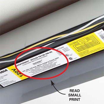Ballast label