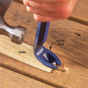 Repairing Decks and Railings
