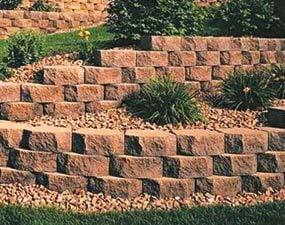 Three-way split block