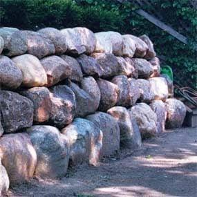 Boulder walls