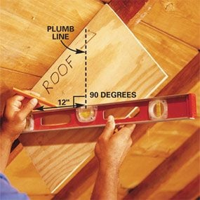 Make a simple rafter jig