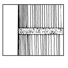 Figure A: Flush joint