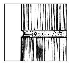 Figure A: Concave joint