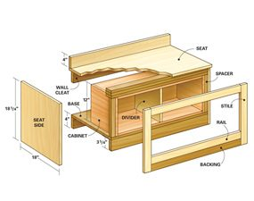 Window seat assembly
