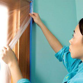 Photo 6: Protect against paint mist