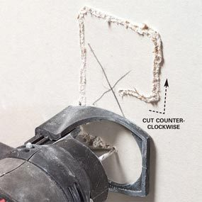How to Use a Spiral Saw on Drywall