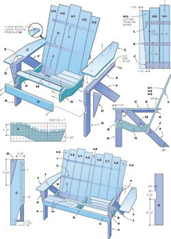 how to make an adirondack chair and love seat, Garten ideen