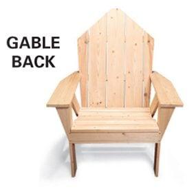 Chair - gable back