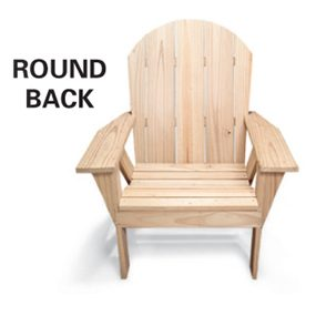 Chair - round back