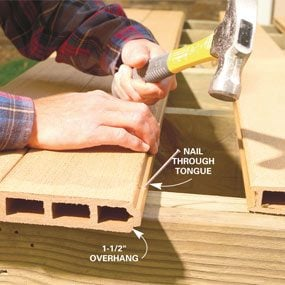 nail the decking wood plans