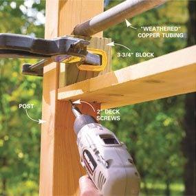 Photo 16: Attach the rails