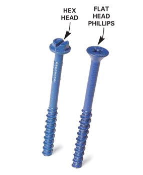 Hex head screws are easier to drive. Use a hex nut driver.