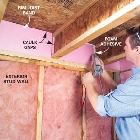 Photo 2: Caulk gaps