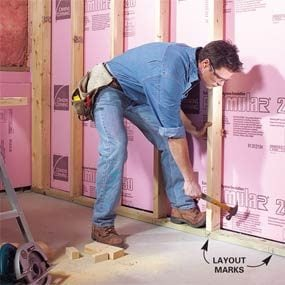 Basement Redos how to finish a basement: framing and insulating | family handyman