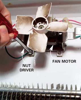 Photo 14: Remove the fan