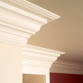 how to put up crown molding on kitchen cabinets how to install crown molding the family handyman 17269