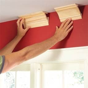 DIY crown molding