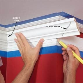 Crown Molding How To Install And Cut