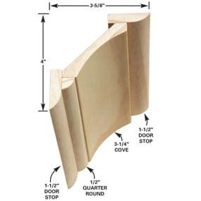 Another multi-piece crown molding option