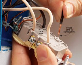 Check stab-in connectors