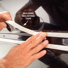 self adhesive body side molding