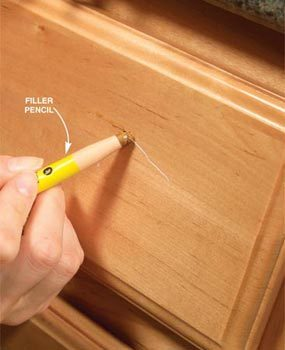 10 Simple Kitchen Cabinet Repairs | Family Handyman