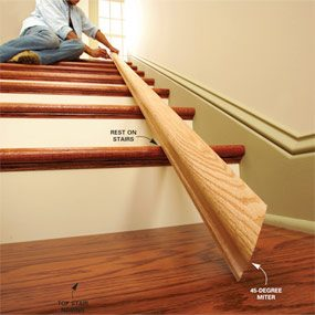 Install a New Stair Handrail