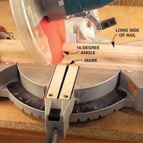 Photo 4: Power miter saw