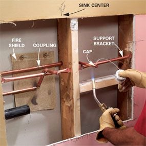 Installing A Bathroom Sink Wall Hung Sink The Family